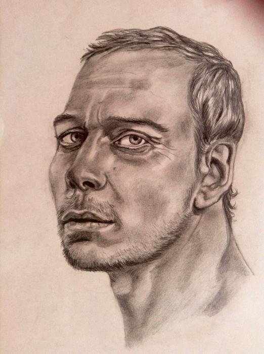 Michael Fassbender by chalkygirl